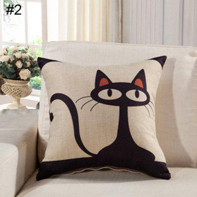 Car Neck Head Waist Protection Pillow Case Cushion Cover Pillowcase