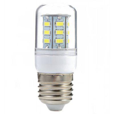 Buy COOL WHITE LIGHT E27 E27 3W AC 110V 300LM 24 SMD-5730 LED Corn Light for $1.48 in GearBest store