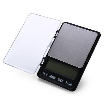 XY-8007 Portable Electronic Digital Kitchen ScaleDigital Scales<br>XY-8007 Portable Electronic Digital Kitchen Scale<br><br>Battery Type: AAA  Alkaline Battery<br>Battery Voltage: 1.5V<br>Color: Silver<br>Material: ABS<br>Maximum load: 600g<br>Model: XY-8007<br>Operation Temperature: 10 - 30 degree<br>Package Contents: 1 x XY-8007 LCD Digital Balance Weight Jewelry Kitchen Scale, 2 x 1.5V AAA Battery, 1 x Bilingual User Manual in English and Chinese<br>Package size (L x W x H): 17.60 x 12.70 x 3.10 cm / 6.93 x 5 x 1.22 inches<br>Package weight: 0.3700 kg<br>Precision: 0.01g<br>Product size (L x W x H): 16.60 x 11.70 x 2.10 cm / 6.54 x 4.61 x 0.83 inches<br>Product weight: 0.3140 kg<br>Type: Kitchen Scale, Jewelry Scale, Digital Scale