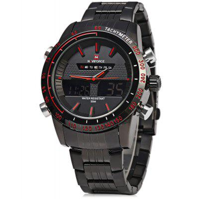 Gearbest NAVIFORCE NF9024 Men Quarz Digital Watch