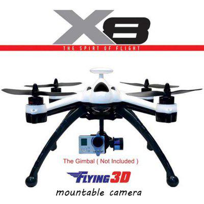 Flying 3D X8 GPS 2.4G 8CH RC Quadcopter 6 Axis Gyro OSD RTF Drone ( without Camera Holder )