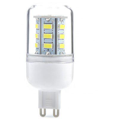 Buy COOL WHITE LIGHT G9 G9 3W AC 110V 300LM 24 SMD-5730 LED Corn Light for $2.28 in GearBest store