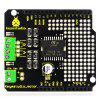 Keyestudio L298P 2A High Current Dual DC Motor Drive Board