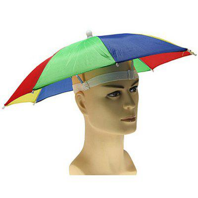 Foldable UV Protection Umbrella Hat Cap