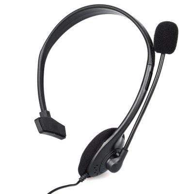 One Side Small Headset for PS4 3.5mm Jack with MicrophoneGame Accessories<br>One Side Small Headset for PS4 3.5mm Jack with Microphone<br><br>Compatible with: Sony PS4<br>Features: Earphone<br>Package Contents: 1 x One Side Headset<br>Package size: 16.00 x 5.00 x 16.00 cm / 6.30 x 1.97 x 6.30 inches<br>Package weight: 0.077 kg<br>Product size: 13.50 x 4.50 x 15.00 cm / 5.31 x 1.77 x 5.91 inches<br>Product weight: 0.045 kg