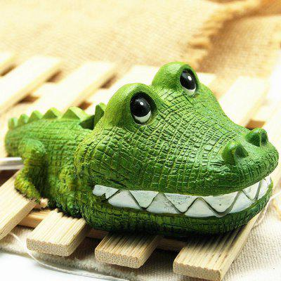 Fake Simulation Crocodile Ornaments for Aquariums