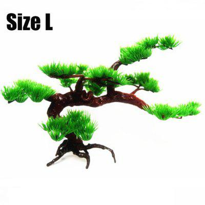 Aquarium Simulation Pine Ornament  Fish Tank Decoration