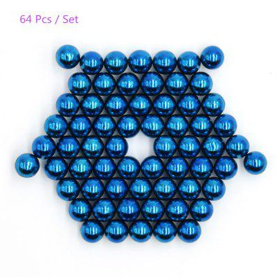 64Pcs 5mm Round Magnetic Ball