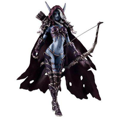 Sylvanas Windrunner Figure Toy Table Bookshelf Ornamentation Gift for Kids