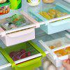 Multipurpose Fridge Storage Sliding Drawer - WHITE