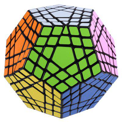 Shengshou Cube 7115A 5 x 5 x 5 Gigaminx Portable Intelligent Toy Black Base