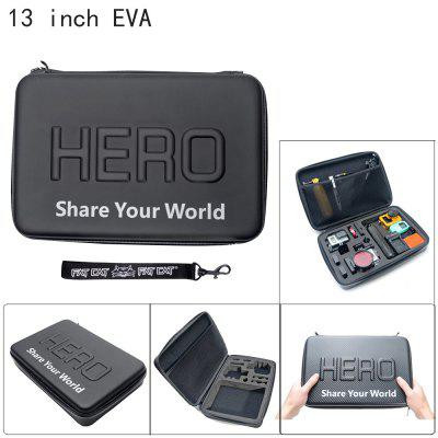 Fat Cat 13 inch Waterproof Dual Slot EVA Storage Box Case