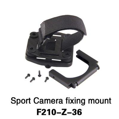 Extra F210 - Z - 36 Adjustable Action Camera Fixing Mount Set for Walkera F210 Multicopter RC Drone