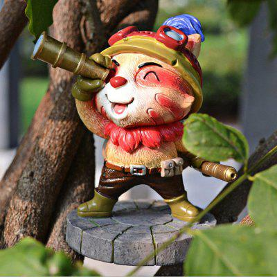 Lovely 9.5cm Height Animal Action Figure Fun Decoration Table / Bookshelf Ornamentation Gift for Kids