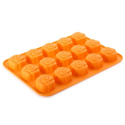 Silicone Rose Flower Shape DIY Cake Molds Bakeware Cooking Tools