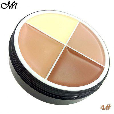 Menow Creme Concealer 4 Farben Make-up-Palette