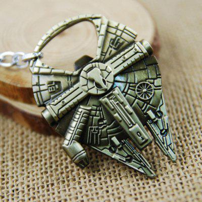 Key Ring Pendant Decoration Spaceship Shape Bottle Opener Movie Product