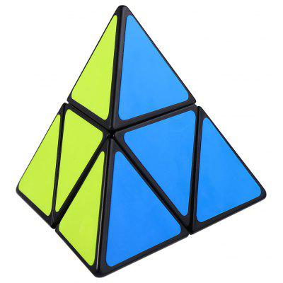 Shengshou Cube 7102A - 3 8.5cm Height Pyraminx Portable Intelligent Toy