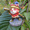 Lovely 9.5cm Height Animal Action Figure Fun Decoration Table / Bookshelf Ornamentation Gift for Kids - COLORMIX