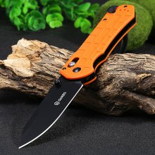 Ganzo G7453P-OR-WS Axis Lock Pocket Knife