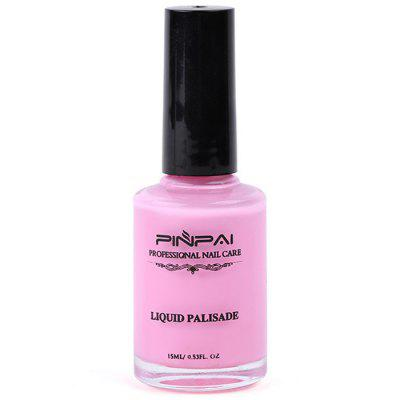 PINPAI Soak Off Nail Care Liquid Palisade - 15mlNail Gel &amp; Polish<br>PINPAI Soak Off Nail Care Liquid Palisade - 15ml<br><br>Available Color: Pink,White<br>Package Contents: 1 x Nail Polish Glue<br>Package size (L x W x H): 5.00 x 4.00 x 10.00 cm / 1.97 x 1.57 x 3.94 inches<br>Package weight: 0.1000 kg<br>Product size (L x W x H): 3.20 x 2.00 x 7.50 cm / 1.26 x 0.79 x 2.95 inches<br>Product weight: 0.0500 kg<br>Type: Nail Polish Glue