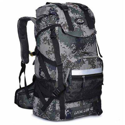 Buy CAMOUFLAGE LOCAL LION 42L Water Resistant Trekking Backpack for $31.51 in GearBest store