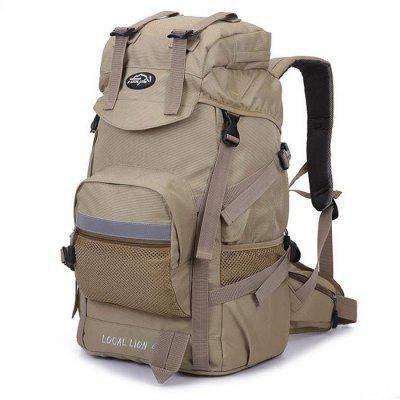 Buy KHAKI LOCAL LION 42L Water Resistant Trekking Backpack for $31.51 in GearBest store