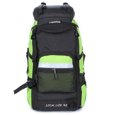 Buy GREEN LOCAL LION 42L Water Resistant Trekking Backpack for $31.29 in GearBest store