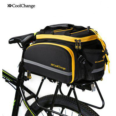 Coolchange Bicycle Rear Rack Bag Water Bottle Pouch