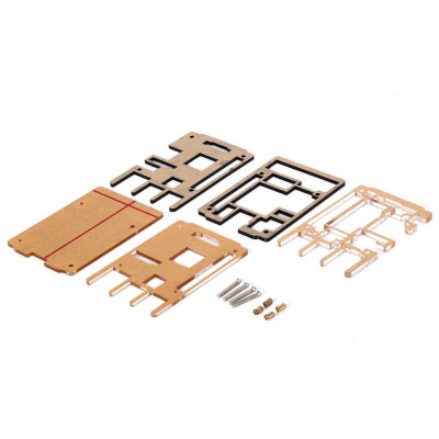 5PCS Transparent Develop Board for Raspberry Pi 2 Model