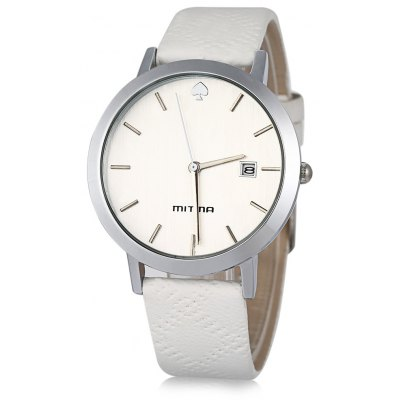 Mitina M303 Date Spade Pattern Ladies Japan Quartz Watch