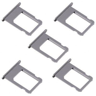 5Pcs / Set SIM Card Tray Slot Replace Parts for iPhone 5S