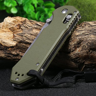Ganzo G7452-GR-WS Stainless Steel KnifePocket Knives and Folding Knives<br>Ganzo G7452-GR-WS Stainless Steel Knife<br><br>Blade Edge Type: Fine<br>Blade Length: 9.0 cm<br>Blade Length Range: 5cm-10cm<br>Blade Material: 440C stainless steel<br>Blade Width: 2.8 cm<br>Brand: GANZO<br>Clip Length: 6.1 cm<br>Color: Army green,Black,Orange<br>For: Collecting, Hiking, Home use, Travel, Camping, Adventure<br>Handle Material: G10 handle<br>Lock Type: Axis Lock<br>Model Number: G745<br>Package Contents: 1 x Ganzo G7452-GR-WS Pocket Knife, 1 x Storage Bag, 1 x Whistle<br>Package size (L x W x H): 15.50 x 6.50 x 4.50 cm / 6.1 x 2.56 x 1.77 inches<br>Package weight: 0.215 kg<br>Product size (L x W x H): 12.00 x 3.30 x 1.20 cm / 4.72 x 1.3 x 0.47 inches<br>Product weight: 0.142 kg<br>Unfold Length: 21.0 cm<br>Weight Range: 101g-200g