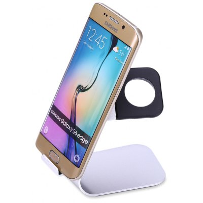 2 in 1 Aluminum Charging Holder for iWatch Smartphones