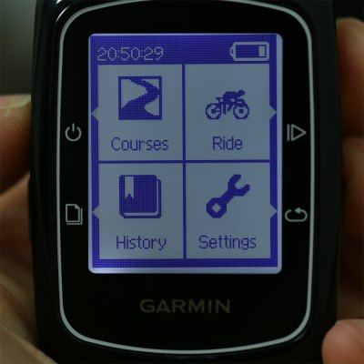 GARMIN Edge 200 GPS Bicycle Computer IPX7 WaterproofBike Computers<br>GARMIN Edge 200 GPS Bicycle Computer IPX7 Waterproof<br><br>Brand: GARMIN<br>Color: Black<br>Features: Accurate, Back Light, Water Resistant<br>Language: Chinese,English<br>Model Number: Edge 200<br>Package Content: 1 x Bicycle Computer, 2 x Handlebar Bracket, 1 x Mini USB Cable, 1 x Set of Elastic Band, 1 x Chinese User Manual<br>Package Dimension: 14.00 x 7.00 x 14.00 cm / 5.51 x 2.76 x 5.51 inches<br>Package weight: 0.2530 kg<br>Power Supply: 1 x 3.7V Rechargeable Li-ion Battery<br>Product Dimension: 6.90 x 4.80 x 2.10 cm / 2.72 x 1.89 x 0.83 inches<br>Product weight: 0.0570 kg<br>Screen size: 3.0 x 3.7 cm / 1.2 x 1.5 inches<br>Suitable for: Cross-Country Cycling, Touring Bicycle, Road Bike, Fixed Gear Bicycle, Mountain Bicycle<br>Type: Wireless