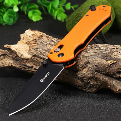 Ganzo G7453-OR-WS Axis Lock Pocket Knife
