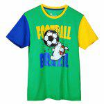 Buy GREEN Xiaomi Soccer Green T Shirt for $10.04 in GearBest store