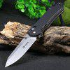 Buy BLACK Ganzo G7452-BK-WS Stainless Steel Knife for $18.37 in GearBest store
