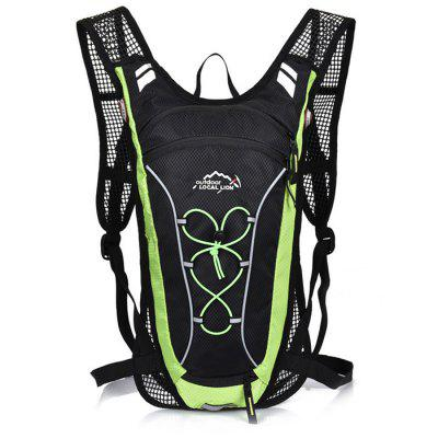 LOCAL LION 12L Nylon Water Resistant Cycling BackpackBackpacks<br>LOCAL LION 12L Nylon Water Resistant Cycling Backpack<br><br>Bag Capacity: 12 L<br>Brand: LOCAL LION<br>Capacity: 11 - 20L<br>Color: Blue,Green,Orange,Pink,Red,White<br>For: Climbing, Cycling, Casual, Other, Traveling, Hiking<br>Material: Nylon<br>Package Contents: 1 x LOCAL LION 12L Cycling Backpack<br>Package size (L x W x H): 44.00 x 34.00 x 6.00 cm / 17.32 x 13.39 x 2.36 inches<br>Package weight: 0.600 kg<br>Product size (L x W x H): 42.00 x 22.00 x 8.00 cm / 16.54 x 8.66 x 3.15 inches<br>Product weight: 0.450 kg<br>Type: Backpack