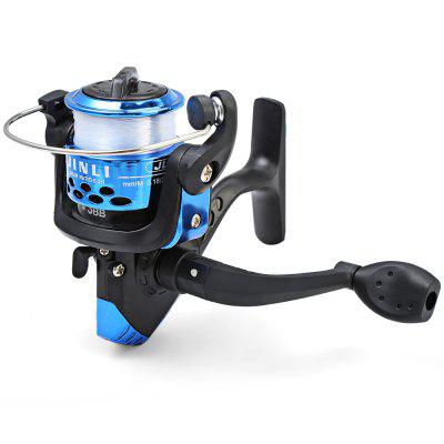 JL200 Electroplating 3 Ball Bearings Spinning Fishing Reel 5.2/1