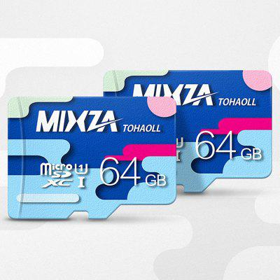 MIXZA TOHAOLL Colorful Series 64GB Micro SD Memory Card