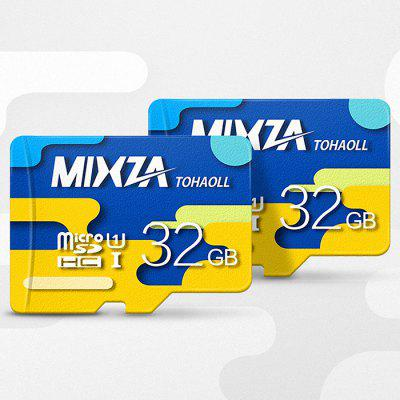 MIXZA TOHAOLL Colorful Series 32GB Micro SD Memory Card ssk scrm 060 multi in one usb 2 0 card reader for sd ms micro sd tf white