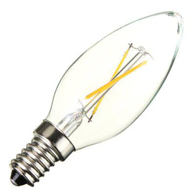 6 x BRELONG COB E14 200LM 2W LED Edison BulbEdison Bulbs<br>6 x BRELONG COB E14 200LM 2W LED Edison Bulb<br><br>Angle: 360 degree<br>Available Light Color: Warm White,White<br>Brand: BRELONG<br>CCT/Wavelength: 2800-3200K,6000-6500K<br>Emitter Types: COB<br>Features: Retro Edison Style, Low Power Consumption, Long Life Expectancy<br>Function: Studio and Exhibition Lighting, Home Lighting, Commercial Lighting<br>Holder: E14<br>Luminous Flux: 200LM<br>Output Power: 2W<br>Package Contents: 6 x BRELONG Candle Bulb<br>Package size (L x W x H): 9.00 x 9.00 x 10.00 cm / 3.54 x 3.54 x 3.94 inches<br>Package weight: 0.270 kg<br>Product size (L x W x H): 2.50 x 2.50 x 9.00 cm / 0.98 x 0.98 x 3.54 inches<br>Product weight: 0.030 kg<br>Sheathing Material: Glass<br>Total Emitters: 2<br>Type: Candle Bulbs<br>Voltage (V): AC 200-240V