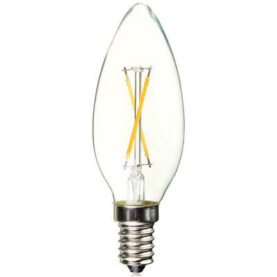 Buy WARM WHITE LIGHT 1PC BRELONG COB E14 200LM 2W LED Edison Bulb for $2.96 in GearBest store