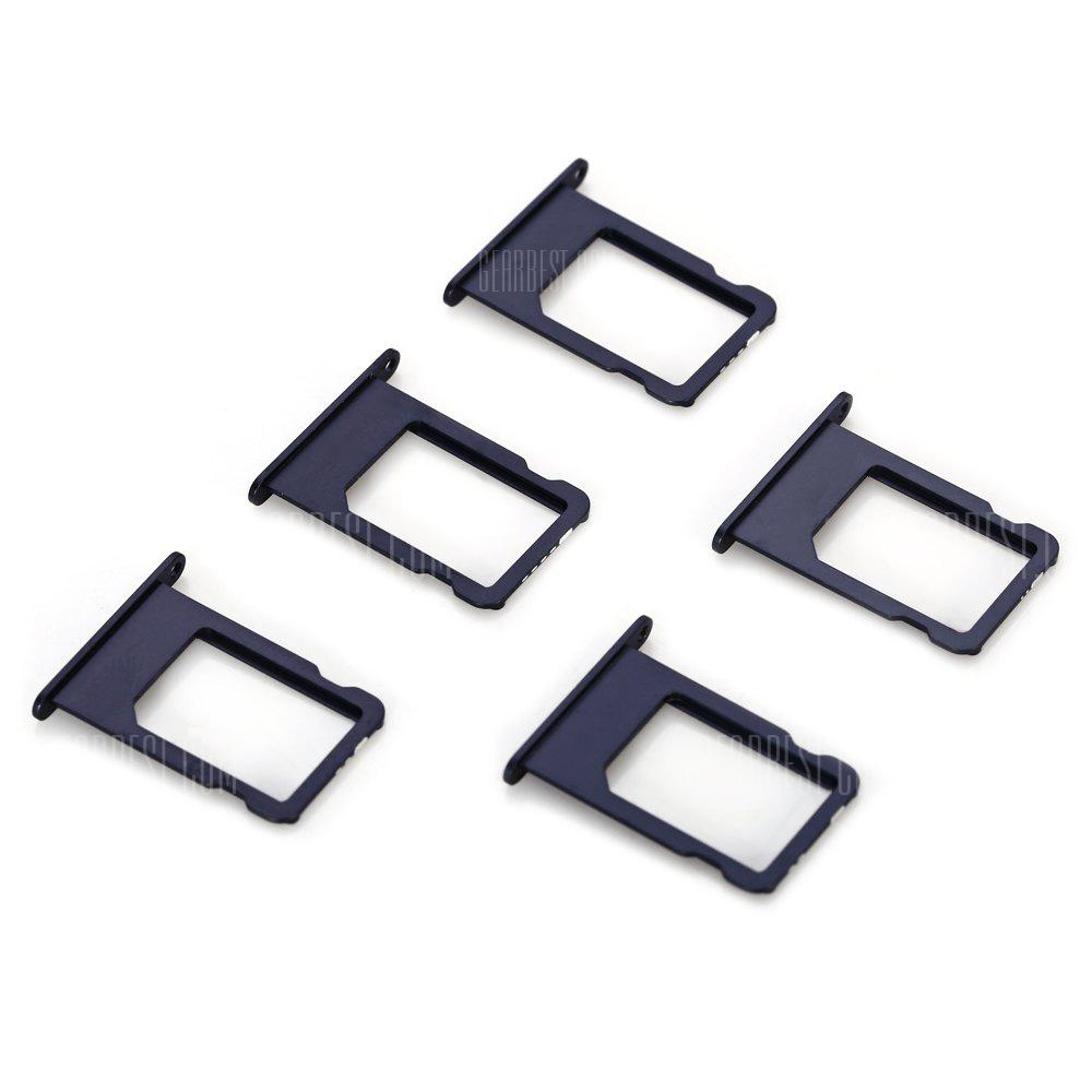 5pcs Set Sim Card Tray Slot For Iphone 5 279 Free Shipping Adapter Micro Android To Type C Hippo Silver