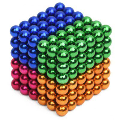 5mm Magnetic Ball Creative Intelligent Toy Gift for Children 216Pcs / Set