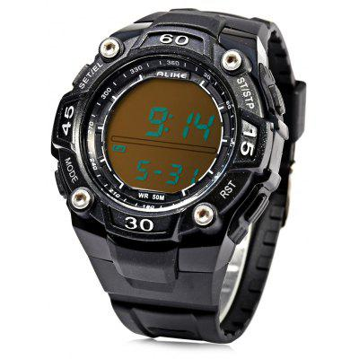Alike A14106 LED Multi-function Male Sport Watch with Pedometer