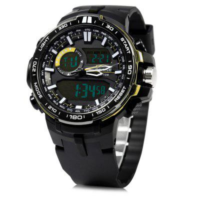 Alike AK15115 LED Dual Movt Multi-function Male Sport Watch