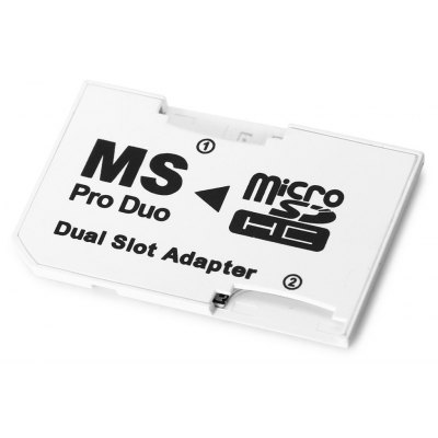 Photofast Dual Micro SDHC TF to MS Pro Duo Adapter