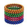 5mm Magnetic Ball Creative Intelligent Toy Gift for Children 216Pcs / Set - COLORMIX